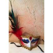 К-1. Маски для праздника с перьями