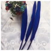 Ш-11.1 шт. Синий цвет. Гусиное перо ручка