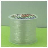 № 10. Белый цвет. Нить резинка для плетения. Спандекс