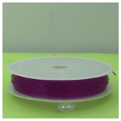 0.7. Фиолетовый цвет. Нить резинка. Спандекс