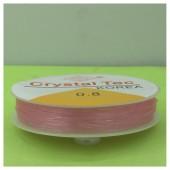 0.8. Розовый цвет. Нить резинка. Спандекс