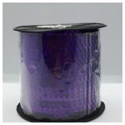 6 мм. 1 м. Фиолетовый хамелеон цвет. Пайетки нить