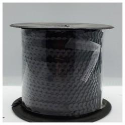 6 мм. 1 м. Черный хамелеон цвет. Пайетки нить