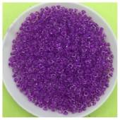 № 10. Сиренево-фиолетовый прозрачный цвет. Бисер 50 гр. № 38