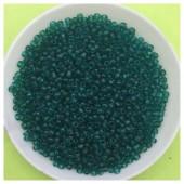 № 10. Зеленый с голубым цвет. Бисер 50 гр. № 44