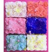 Розы клумба. Фигурное мыло ручной работы № 19