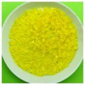 400 гр. Желтый прозрачный цвет. Стеклярус. № 5
