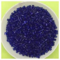 50 гр. Синий цвет. Стеклярус. № 39