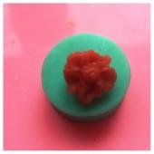 3D Силиконовая форма для мыла. Роза. Форма 2.5 х 2.5 см № 9