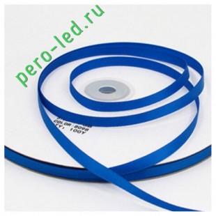Синий цвет. Репсовая тесьма для рукоделия. .6 мм. 100 м