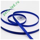 Темно-синий цвет. Репсовая тесьма для рукоделия .6 мм. 100 м