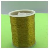 1 кат. Золото цвет. Цветная металлическая нить