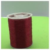 1 кат. Бордо цвет. Цветная металлическая нить