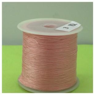 № 3. Розовый цвет. Нить для плетения