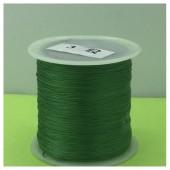№ 3. Зеленый цвет. Нить для плетения
