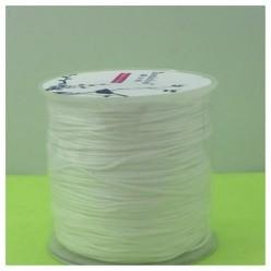 100 м. Белый цвет. Нить для плетения шамбала