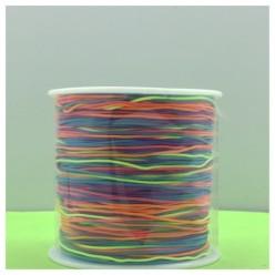 100 м. Микс цвет. Нить для плетения Шамбала
