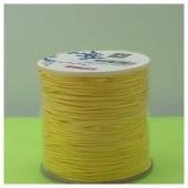 100 м. Желтый цвет. Нить для плетения Шамбала