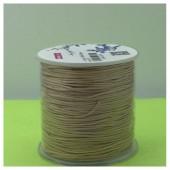 100 м. Бежевый цвет. Нить для плетения Шамбала
