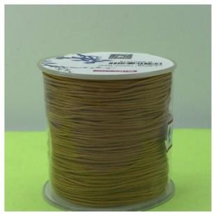 100 м. Золотой цвет. Нить для плетения Шамбала