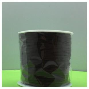 100 м. Черный цвет. Нить для плетения Шамбала