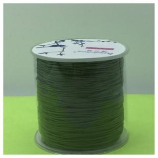 100 м. Болотный цвет. Нить для плетения Шамбала