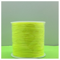 100 м. Лимонный цвет. Нить для плетения Шамбала