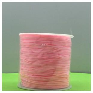 100 м. Розовый цвет. Нить для плетения Шамбала