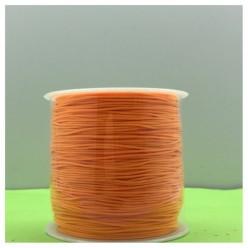 100 м. Оранжевый цвет. Нить для плетения Шамбала