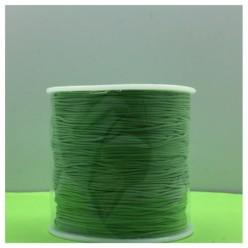 100 м. Зеленый цвет. Нить для плетения Шамбала
