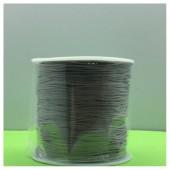 100 м. Серый цвет. Нить для плетения Шамбала