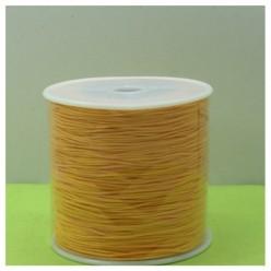 100 м. Желто-оранжевый цвет. Нить для плетения Шамбала
