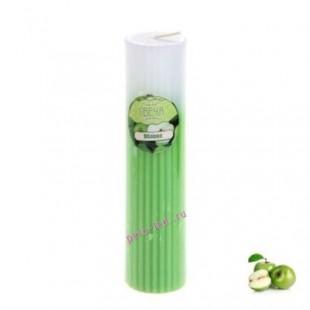3.5х3.5х15 см. Яблоко. 2-х цвет. Свеча ароматическая столбик длинный.