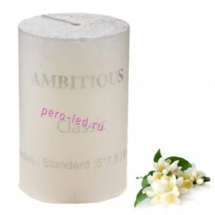 Свеча ароматическая пеньковая. Жасмин. 5 см х 5 см х 7.5 см