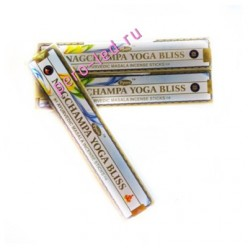 15 гр. YOGA BLISS. Ароматические палочки. Ppure