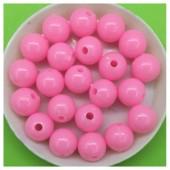 10 мм. 50 гр. Розовый цвет. Цветные бусинки № 3.   050