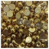 № 10. Золото цвет. Бусинки клеевые 2300 шт. № 1