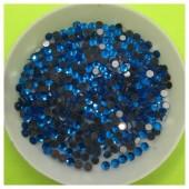 № 12. Сине-голубой цвет. Стразы клеевые 1400 шт.  № 21
