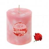 6х6х8 см. Роза. Свеча лед ароматическая.