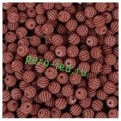 Коричневый цвет. Ежики. Бусинки цветные акриловые круглые. Bayberry. 16 мм. 20 шт. #6