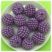 14 мм. 50 гр. Фиолетовый цвет. Шамбала бусинки № 9