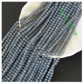 Серый цвет. Круглые граненые бусины. OlingArt  4 мм. 150 шт+/-5 шт. #52