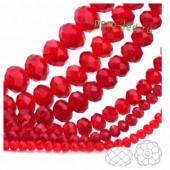 Красный цвет. Круглые граненые бусины. OlingArt  6 мм. 100 шт+/-3 шт. #5