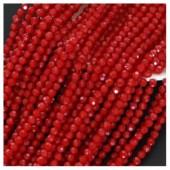 Бордо цвет. Круглые граненые бусины. OlingArt 8 мм. 70 шт+/-2 шт. #20