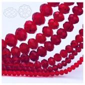 Бордо цвет. Круглые граненые бусины. OlingArt  8 мм. 70 шт+/-2 шт. #32