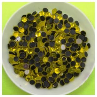 № 16. Желтый цвет. Стразы клеевые 1400 шт. № 3