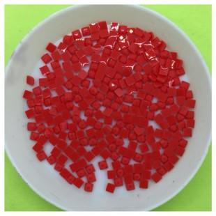 5 гр. Цветные клеевые квадратные стразы 2 х 2 мм. № 20