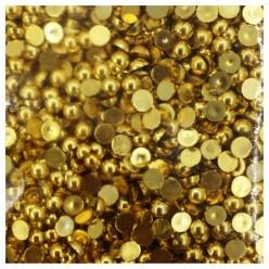 № 4. Золото цвет. Бусинки клеевые. 10000 шт. № 13