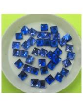 50 х 50 мм. Синий цвет. Стразы клеевые 250 шт. № 9