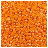 № 6. Оранжевый хамелеон цвет. Бусинки клеевые 5000 шт. № 7